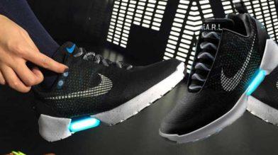 На самозашнуровывающиеся кроссовки Nike опубликована цена