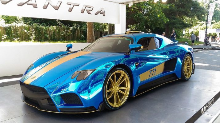 Mazzanti Evantra представит новый суперкар 771