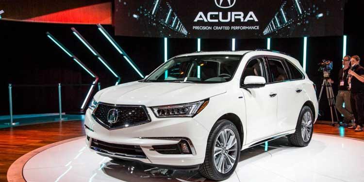 Acura MDX показала в Нью-Йорке новое лиц