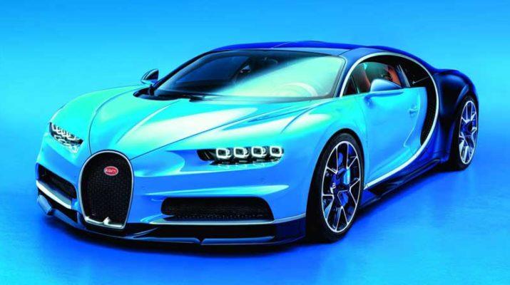 Новинка в линейке гиперкаров - Bugatti Chiron