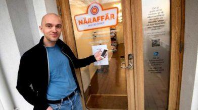 В Швеции открылся магазин без персонала