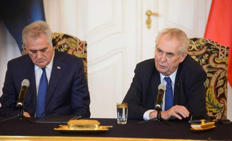 Сербия и Чехия призвали к снятию санкций с России
