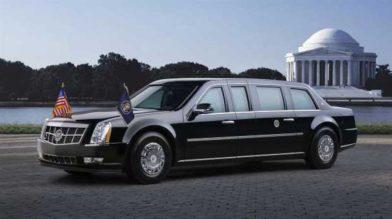 Лимузин Дональда Трампа: запас крови и нитрос