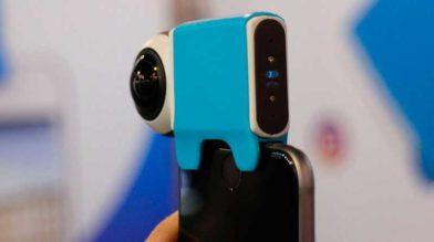 Giroptic IO iPhone может записать видео под углом 360 градусов