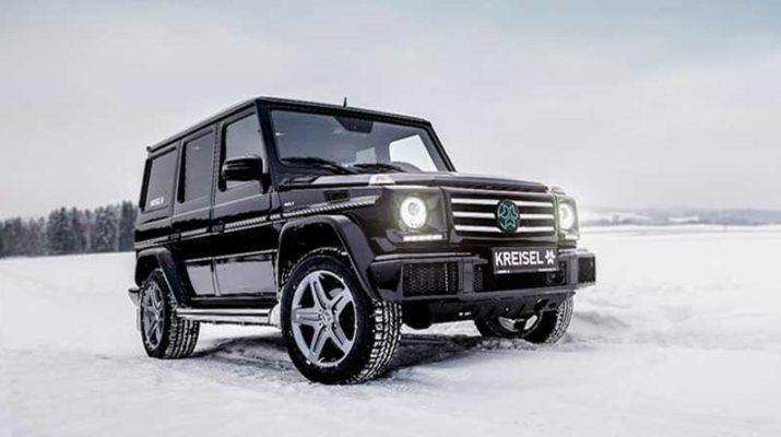 Шварценеггер и Kreisel Electric представили электоромобиль Mercedes-Benz G-Class
