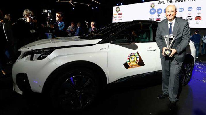 Peugeot 3008 выбран лучшим автомобилем Европы
