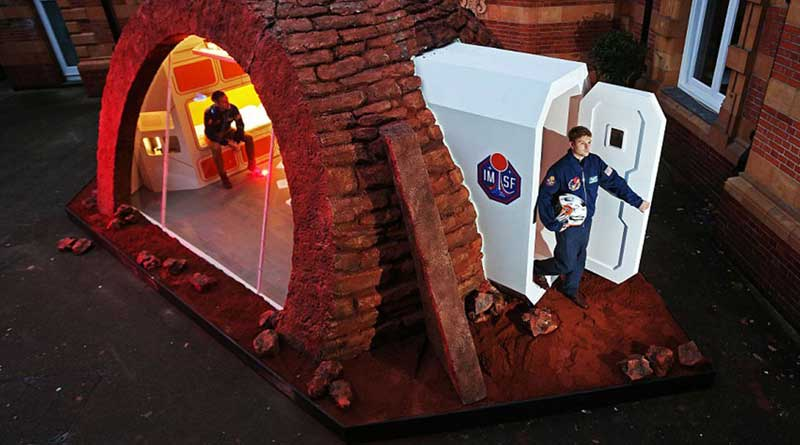 Ученые показали жилье для жителей Марса