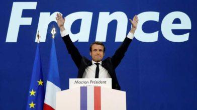 Эммануэль Макрон - новый президент Франции