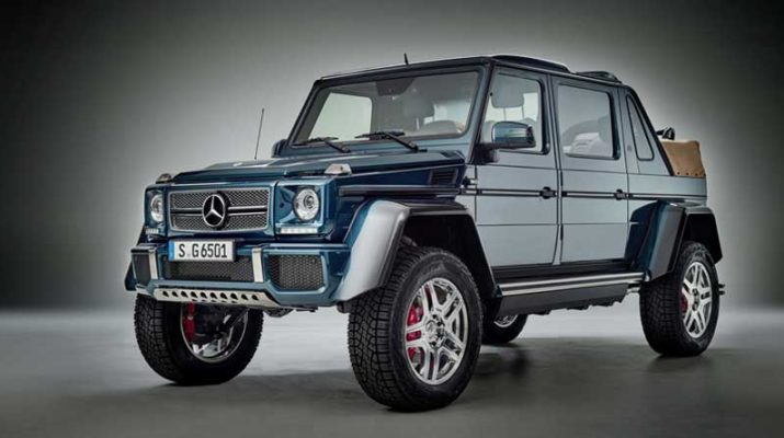 Внедорожник Mercedes-Maybach G 650 Landaulet