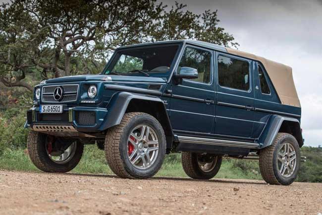 Внедорожник Mercedes-Maybach G 650 Landaulet