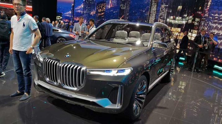 Роскошный Кроссовер BMW X7 iPerformance