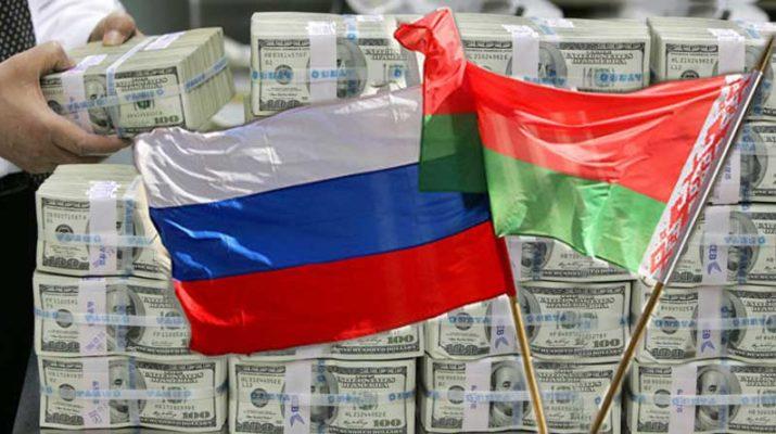Белоруссия получила от России кредит на $700 млн
