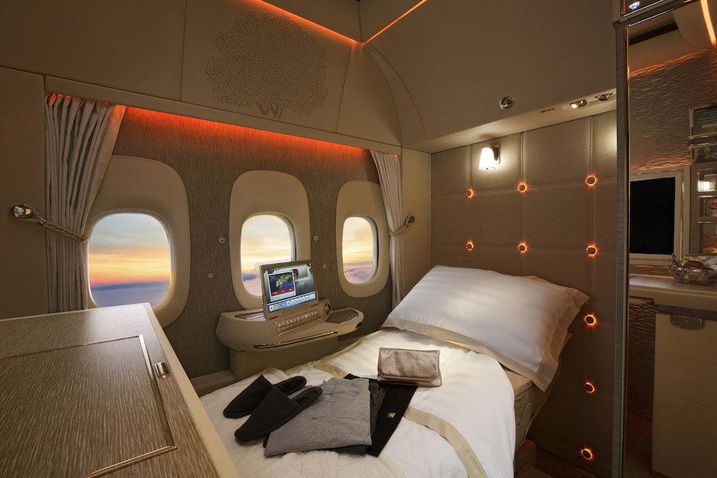 ОАЭ показали салон Boeing 777 с дизайном от Mercedes-Benz