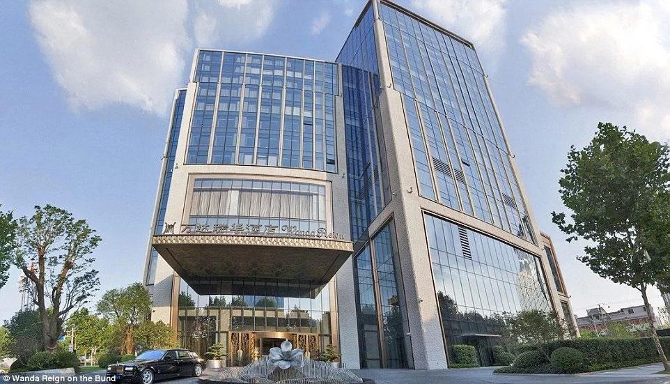 Роскошный семизвездочный отель построен в Китае