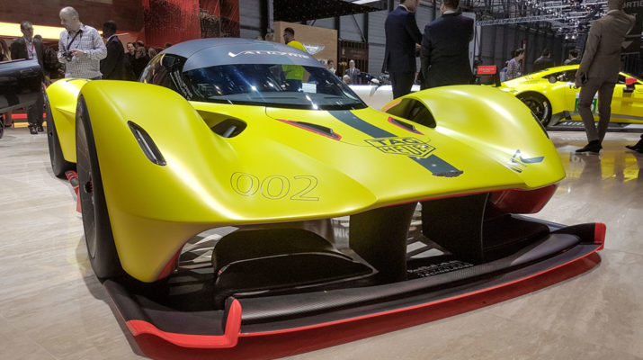 Новый английский гоночный автомобиль – «Валькирия»