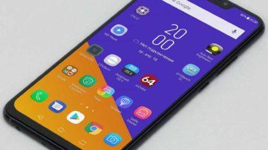 Смартфон Asus Zenfone 5 с безрамочным экраном