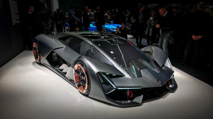 Lamborghini Terzo Millennio - сам восстанавливается