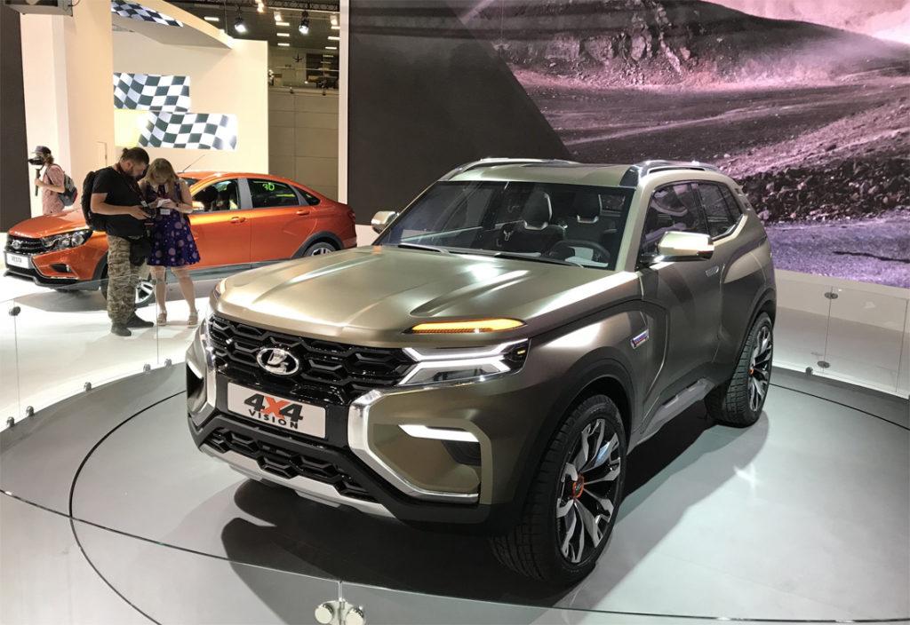 АвтоВАЗ представил новую Ниву «4х4 Vision»