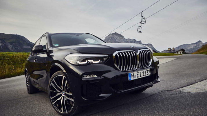 Представлен BMW-X5 с расходом 1,2 литра