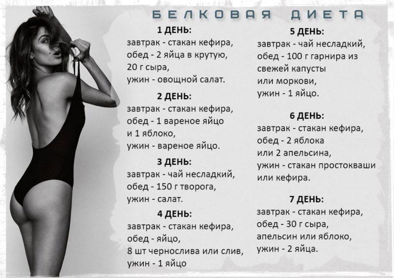 Варианты Белковых Диет Для Похудения.